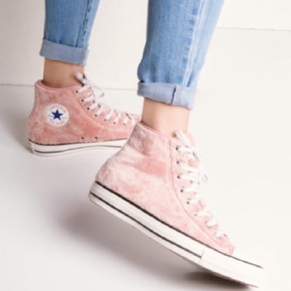 Converse Chuck Taylor Pink Fur All Star